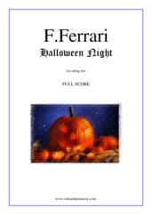 Halloween Night (f.score)