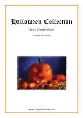 Cover icon of Halloween Sheet Music for trumpet and piano, classical score, intermediate/advanced