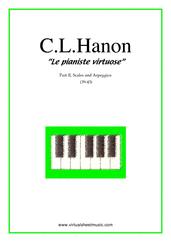 Le pianiste virtuose, part II B (scales & arpeggios)