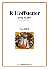 String Quartet (for quintet, f.score)