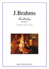 Lullaby Op. 49 No. 4
