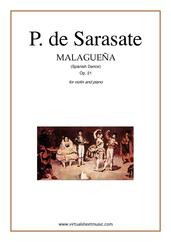 Malaguena spanish dance Op.21