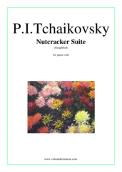 Cover icon of Nutcracker Suite (Simplified) sheet music for piano solo by Pyotr Ilyich Tchaikovsky, classical score, easy/intermediate
