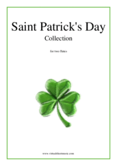 Cover icon of Saint Patrick's Day Collection, Irish Tunes and Songs sheet music for two flutes, easy skill level