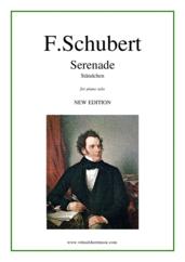 schubert serenade piano sheet pdf