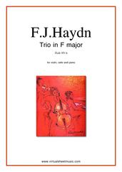 Trio in F major Hob XV:6