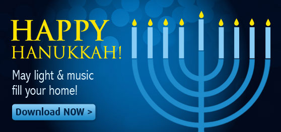 Start playing exclusive Hanukkah sheet music collections