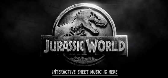Jurassic World Sheet Music