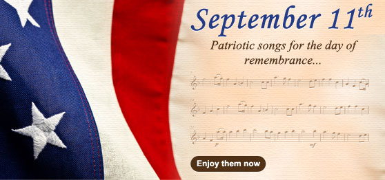 Celebrate September 11th with our Patriotic collections