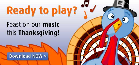 Enjoy Thanksgiving with Exclusive Dedicated Music Collections!