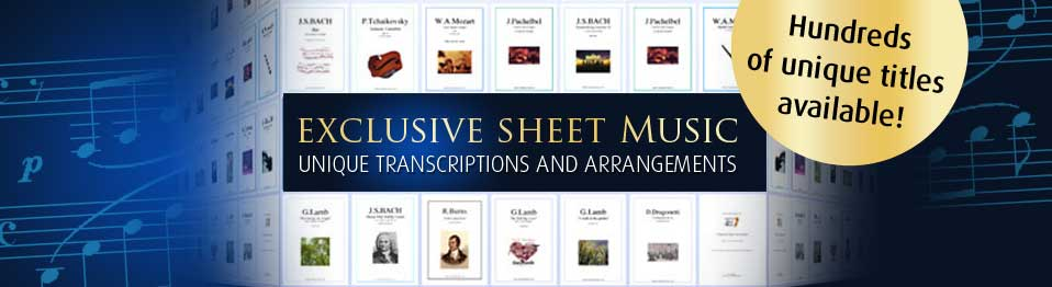 Exclusive Sheet Music