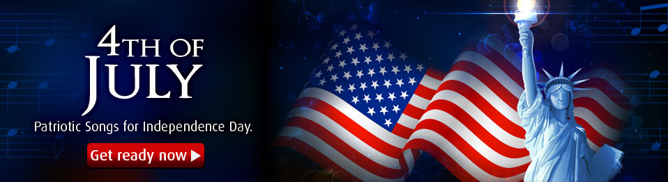 Celebrate Independence Day with Top Quality Patriotic sheet music collections