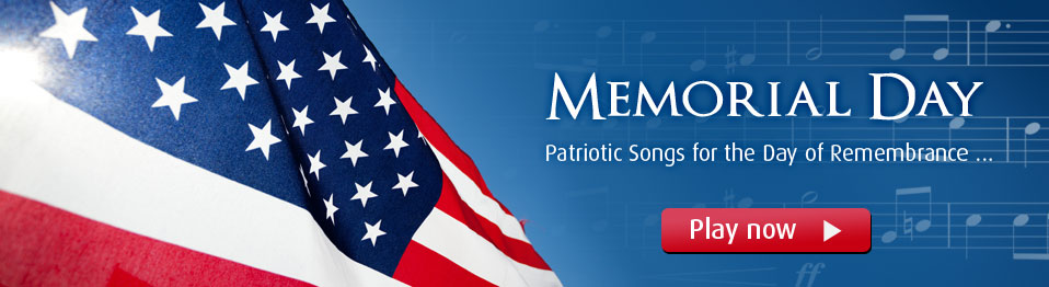 Celebrate Memorial Day with Top Quality Patriotic collections