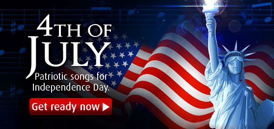 Get ready for the 4th of July celebration with exclusive, patriotic sheet music collections