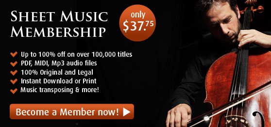 Virtual Sheet Music Membership