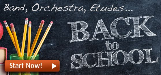 Back to School sheet music and resources