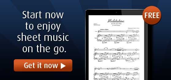 Virtual Sheet Music Free iPad Application
